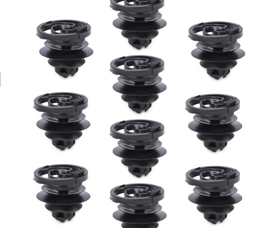 30pcs Nylon Car Door Retainer Panel Clip Fasteners A20341 3B0868243 For VW Jetta Golf Mk4 Durable