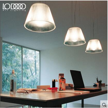 Music lamp Nordic modern minimalist single Pendant Lights restaurant bar crystal frosted glass umbrella pendant lamps  lo7184