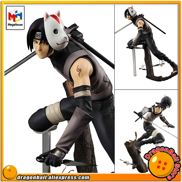 Japan Anime Naruto Original MegaHouse G E M Complete Figure Uchiha Itachi ver ANBU