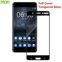 For Nokia 6 Glass Tempered Original MOFi Full Cover Protective Film For Nokia 6 Screen Protector