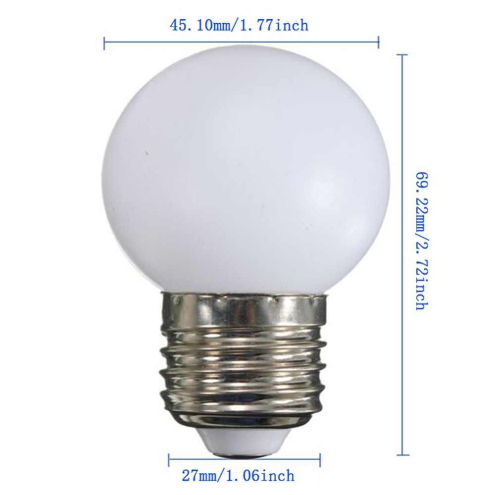 E27 żarówka Led światła 3 W AC220-240V ciepły/zimny biały o wysokiej jasności G45 energooszczędne LED żarówki lampa darmowa wysyłka