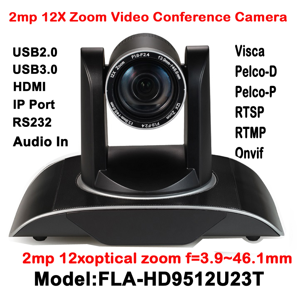 2MP HDMI Full HD Broadcast 12X Zoom PTZ Video Conference Camera Audio with IP USB2.0 USB3.0 Interface 2mp hdmi full hd broadcast 12x zoom ptz video conference camera audio with ip usb2 0 usb3 0 interface