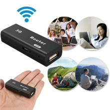 Portable Mini 3G WiFi Router Wlan Hotspot LAN Client For AP 150Mbps RJ45 USB Wireless Adapter Repeater For Mac iOS Android