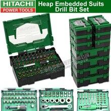 Япония HITAHCI Heap встроенные костюмы набор сверл шуруповерт электрические сверла отвертка головка аксессуары бит