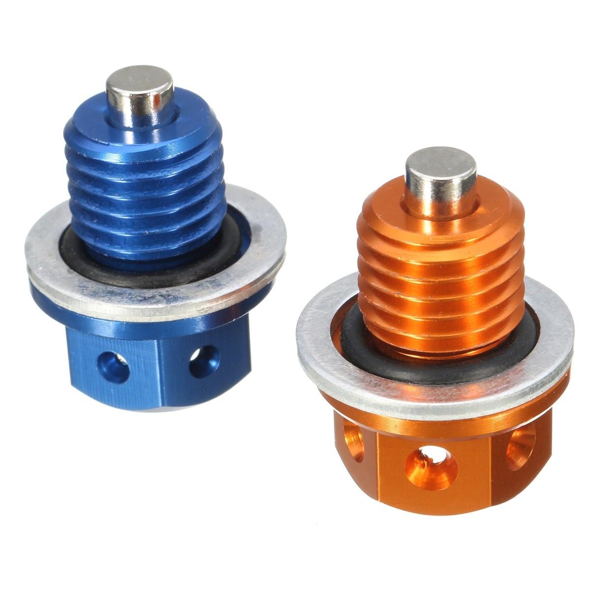 М12 оранжевый/синий ЧПУ для слива масла штепсельная Вилка для KTM 690 герцог 09-16 450 505 525 SX с/ХС АТВ