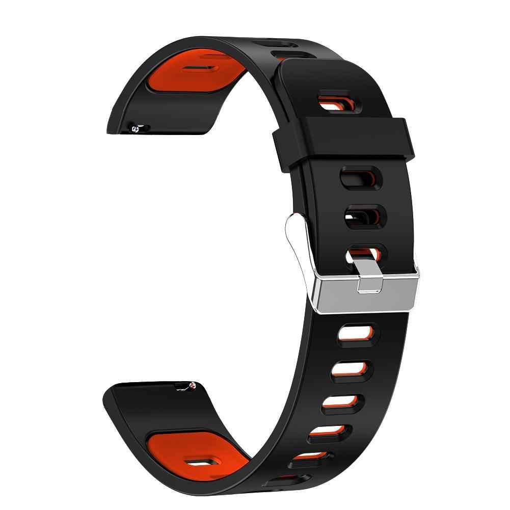 חכם ספורט שעון קצב לב לחץ דם שינה ניטור ריצה צמיד עמיד למים IP67 מלא מסך מגע חכם שעון