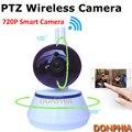 HD Mini Câmera IP WIFI sem fio duplo antena 720 P Bebê Monitor de CCTV Câmera de detecção de movimento P2P Pan/Tilt IR alarme Noite câmera