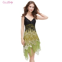 HE00045 WH GR RD Ever Pretty Flowing Lace Cocktail Dress