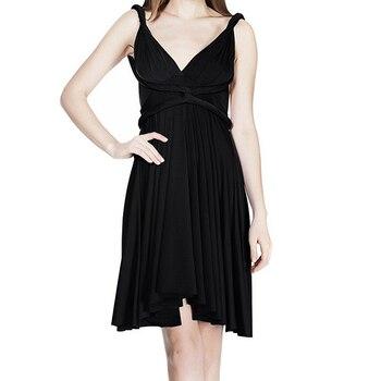 4e46d95f8ae Модное летнее платье для женщин с многослойным запахом вечернее ...