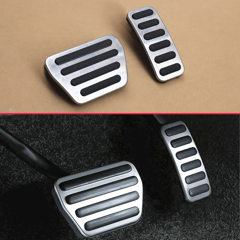 Non-Slip For Land Rover Range Rover Sport Discovery L405 L494 L462 Steel Gas Brake Accelerator Pedal Cover Overlay Accessories 2 licence number plate led light no error 2012 rover range rover l405 rover range rover l405 sport l494 ca292