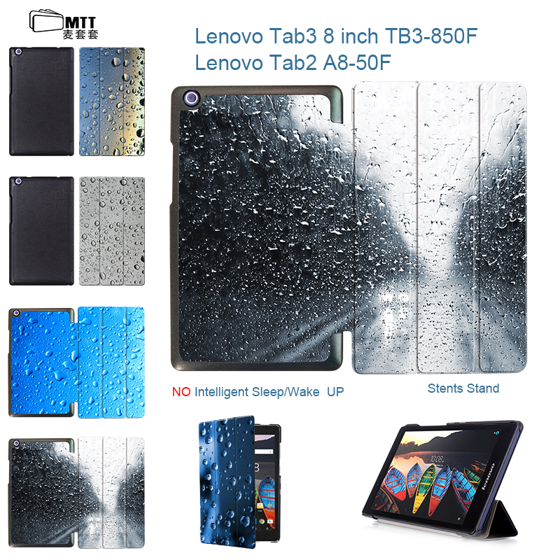 MTT For lenovo tab2 A8-50F A8-50LC tablet 8 case PU Leather Cover Stand Case for Lenovo Tab 3 TAB3 8.0 850 850F 850M TB3-850M ultra slim flip with magnetic pu leather folding stand cover case for lenovo tab 2 a8 50 a8 50f a8 50lc 8 0 tablet case