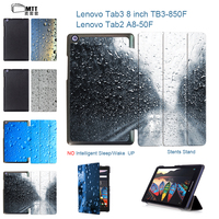 MTT For Lenovo Tab2 A8 50F A8 50LC Tablet 8 Case PU Leather Cover Stand Case