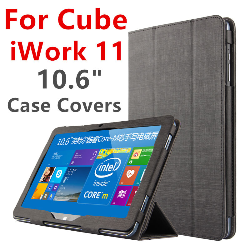 Case For Cube iwork 11 Protective Smart cover Protector Leather Tablet PC For Cube iwork11 PU Sleeve 10.6 inch Cases Covers for cube pu protective leather case protective shell skin for cube iwork8 8 inch tablet pc case film pen