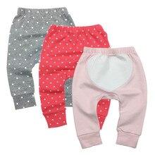 Newborn Baby Boys Girls Pants Unisex Casual Bottom Harem PP Fox Trousers 6M-24M 3piece/lot