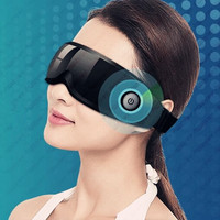Rechargeable Electric Air Pressure Eye Massager Functions Wireless Vibration Magnetic Far Infrared Heating Usb Glasses