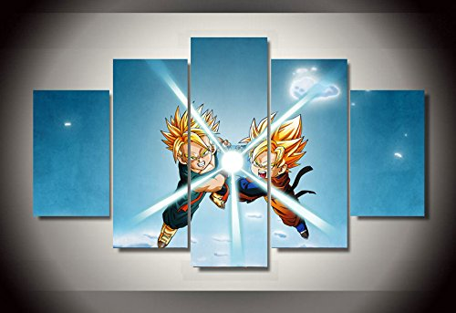 Popular dragon ball z canvas art buy cheap dragon ball z for Dragon ball z living room