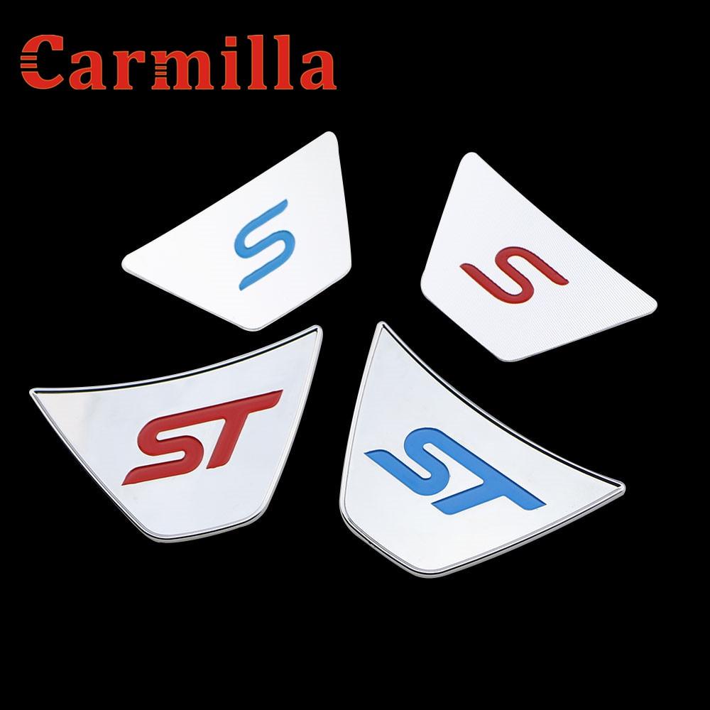 Carmilla Steering Wheel S Sequins Sticker Case for Ford Ecosport New Fiesta Refitting St ...