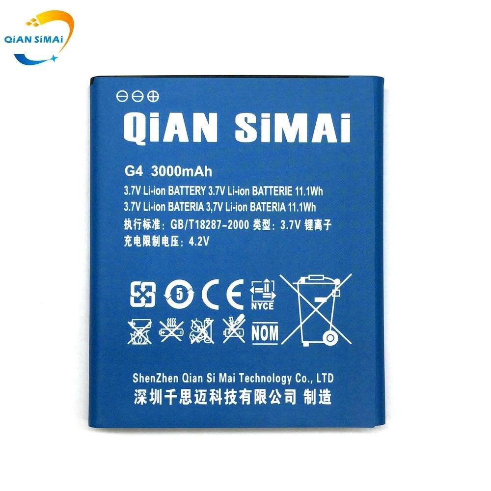 QiAN SiMAi 6.00mm Épais G4 Batterie Pour JIAYU G5S G5 G4s G4 G4T mobile téléphone 2017 Nouveau 100% Haute Qualité + Piste Code