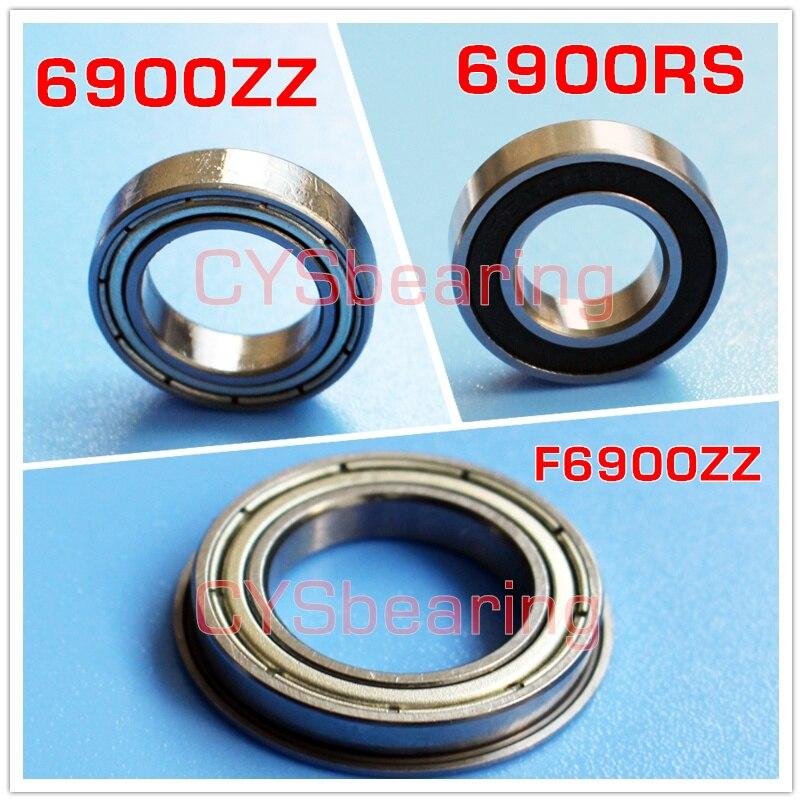 10 Flanged Bearing 3*6*2 Open mm Metric Ball Bearings