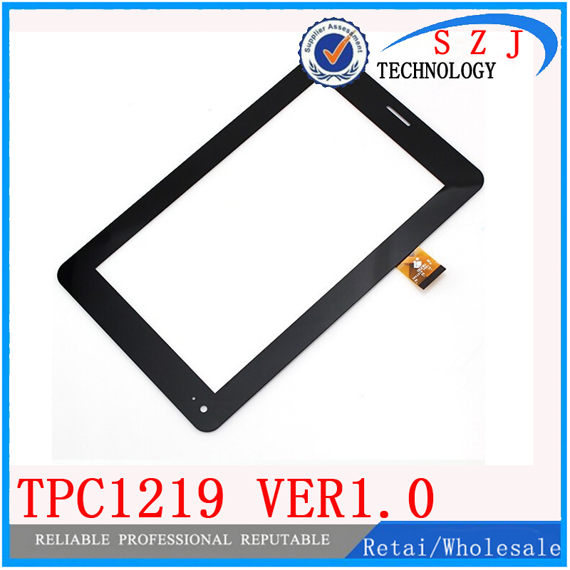 Original 7 inch Tablet PC TPC1219 Ver1.0 TPC0533 touch screen panel Digitizer Glass Sensor Replacement Free Shipping 20Pcs/lot for asus padfone mini 7 inch tablet pc lcd display screen panel touch screen digitizer replacement parts free shipping