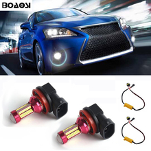 BOAOSI 2×9006 HB4 Белый 10 Вт Canbus светодиодный фонарь, передние лампа не ошибка для Lexus GS RX 300 330 LS460 IS250 LS600h ES350