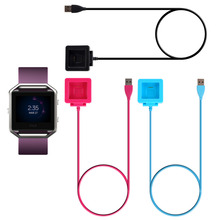 Smart Watch USB Power Charger Cable Battery Charging Dock forFitbit Blaze Smart Watch Convenient for travelers and business user