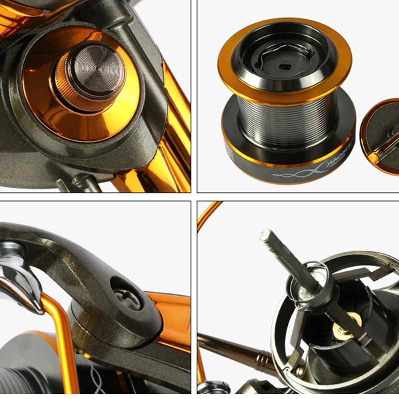 18 Új japán gyártási anyagok 8000-9000 Spinning Jigging Reel 13 + - Halászat - Fénykép 5
