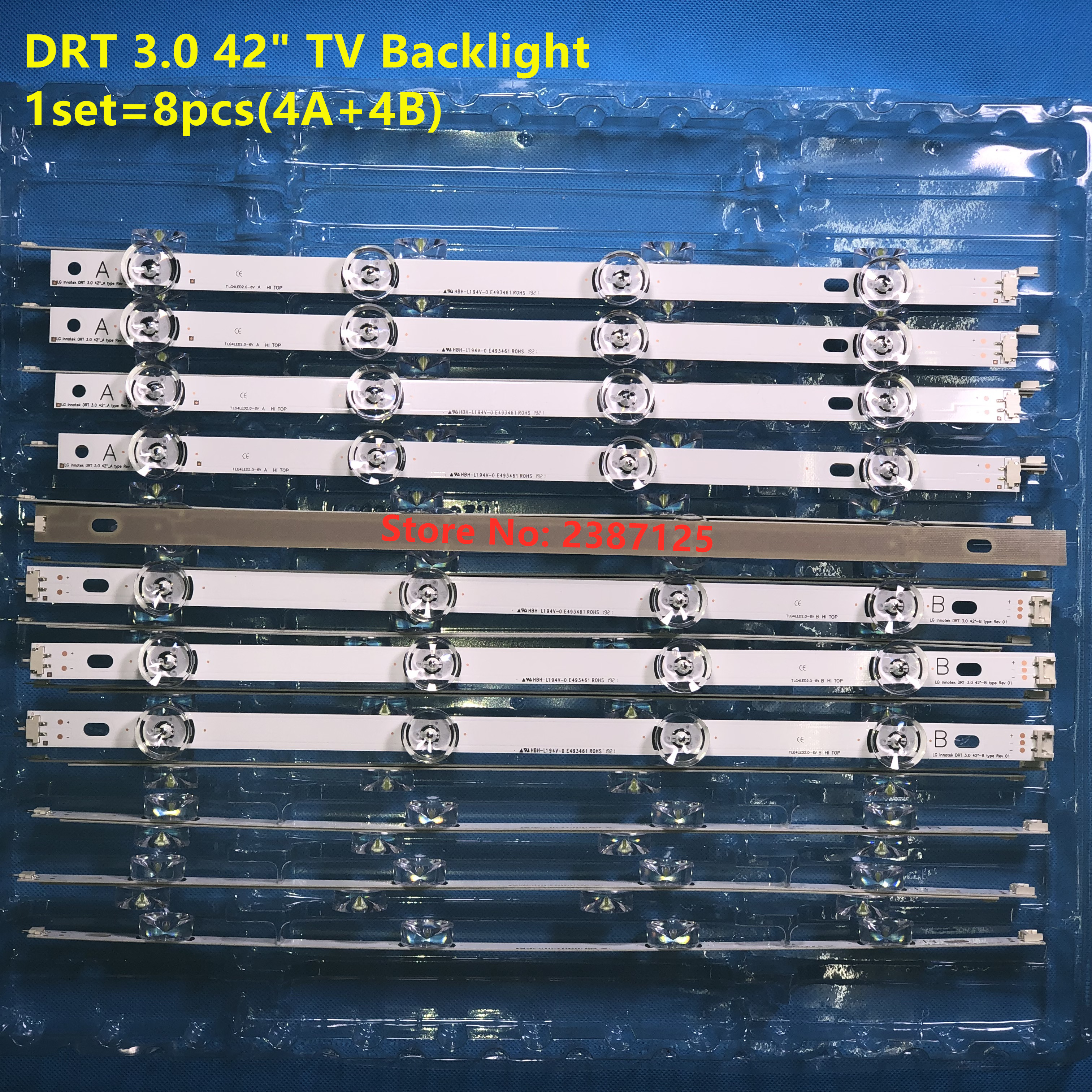 Image 5 - LED backlight strip for Lg drt 3.0 42 DIRECT AGF78402101 NC420DUN VUBP1 T420HVF07 42LB650V 42LB561U 42LB582V 42LB582B 42LB5550-in LED Bar Lights from Lights & Lighting