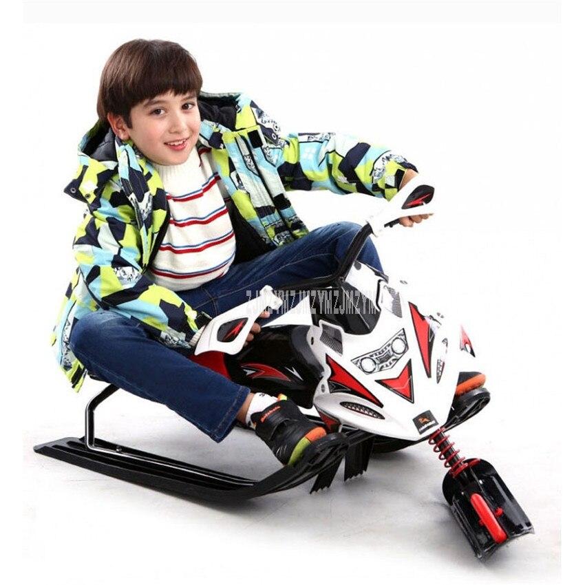 Sports de plein air cadre en acier glace/chasse-neige Snowboard professionnel ski moto traîneau adulte enfants planche de ski 0088