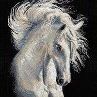 Diamond Paste Cross Stitch 3d Cube Of Fine Horse Diamond Embroidered Landscape Painting Animal Horse Diy