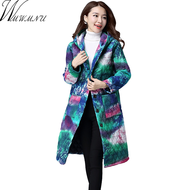 Wmwmnu 2017 Women s Coat Spring Autumn Women s Fashion Windproof Parkas Female winter Jacket With