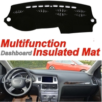 Dashboard Mat Insulated Original Factory Shape pad Protection Cover Carpet Dashmat Special Model For Audi Q7 4L 2005~2015
