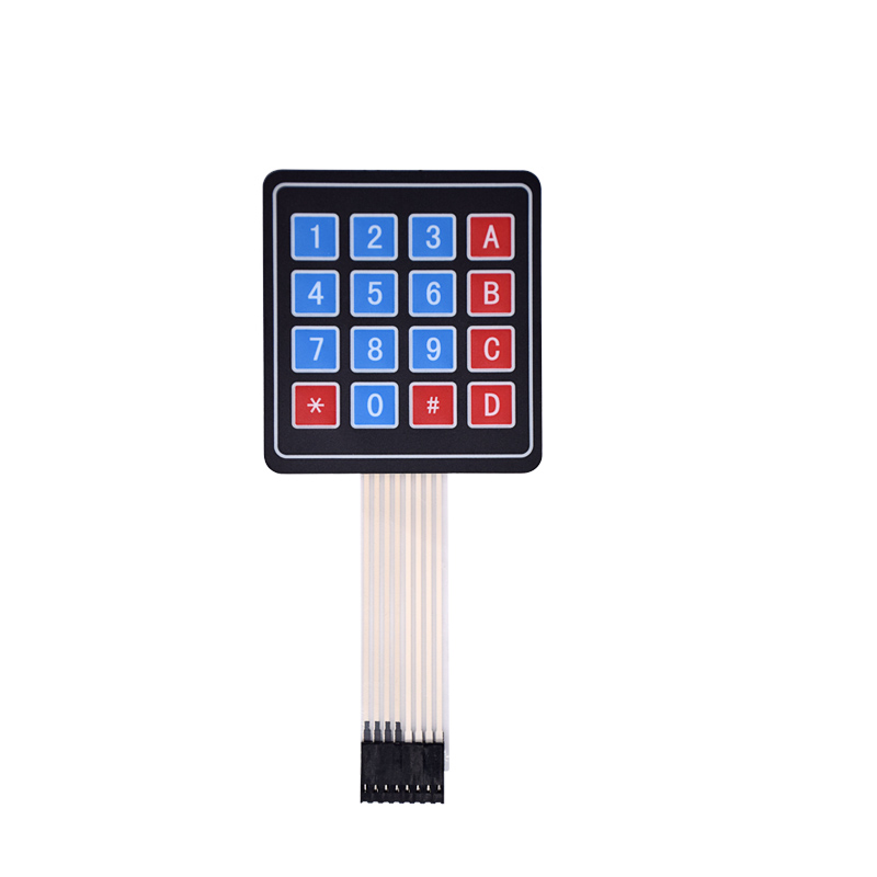 New 4*4 Matrix Array/Matrix Keyboard 16 Key Membrane Switch Keypad