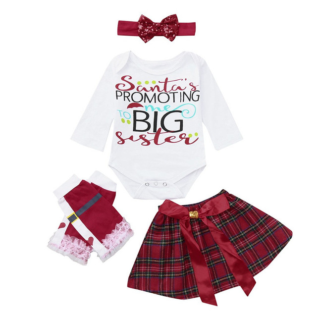 Baby Girls Christmas Gifts Newborn Rompers lace tutu skirts bows ...