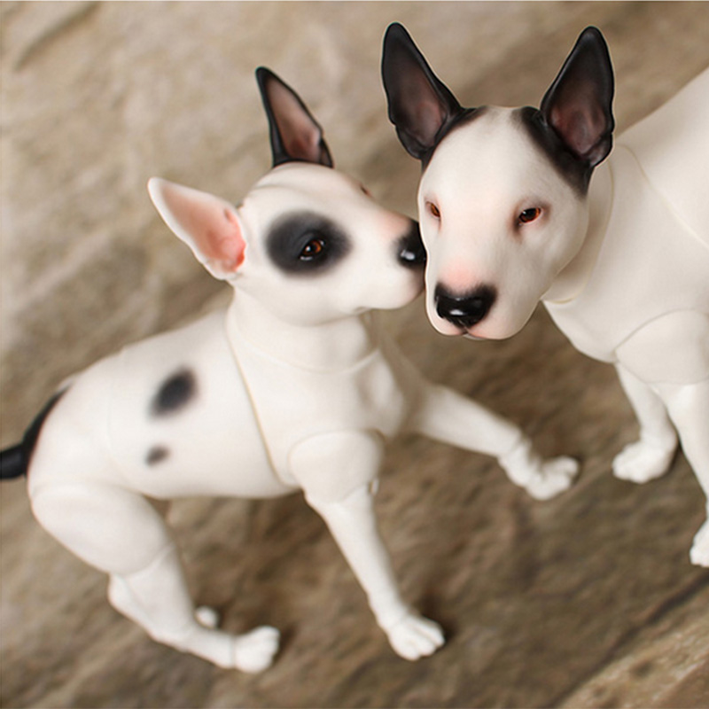 Iplehouse IP bull dog pet doll sd bjd 1/6 body model pets bjd doll oueneifs High Quality resin toys free eyes shop pet shop toys dachshund 932 bronw sausage dog star pink eyes