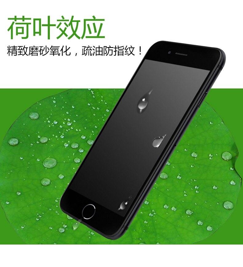 9H 2.5D matowy matowy pełna pokrywa szkło hartowane Screen Protector dla iPhone X XS MAX XR 10 8 7 6s 6 Plus 7Plus anty odciski palców 12
