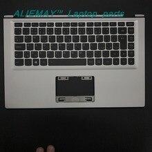 Laptop parts for LENOVO YOGA 2 13 Yoga2-13  SILVER/BLACK Palmrest  with Backlit CZECH  CZ-SK Keyboard 90205160 60205191