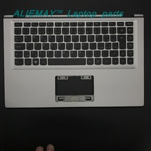 Laptop parts for LENOVO YOGA 2 13 Yoga2-13  SILVER/BLACK Palmrest  with Backlit CZECH  CZ-SK Keyboard 90205160 60205191 цена в Москве и Питере