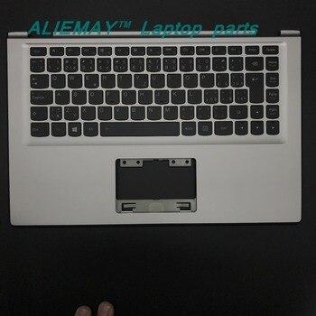 цена на Laptop parts for LENOVO YOGA 2 13 Yoga2-13  SILVER/BLACK Palmrest  with Backlit CZECH  CZ-SK Keyboard 90205160 60205191