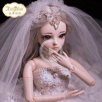 Doris Kitty Doll 60 Cm Joint Dolls gai zhuang Change SD Doll BJD Girl Toys 60 Cm christmas deals