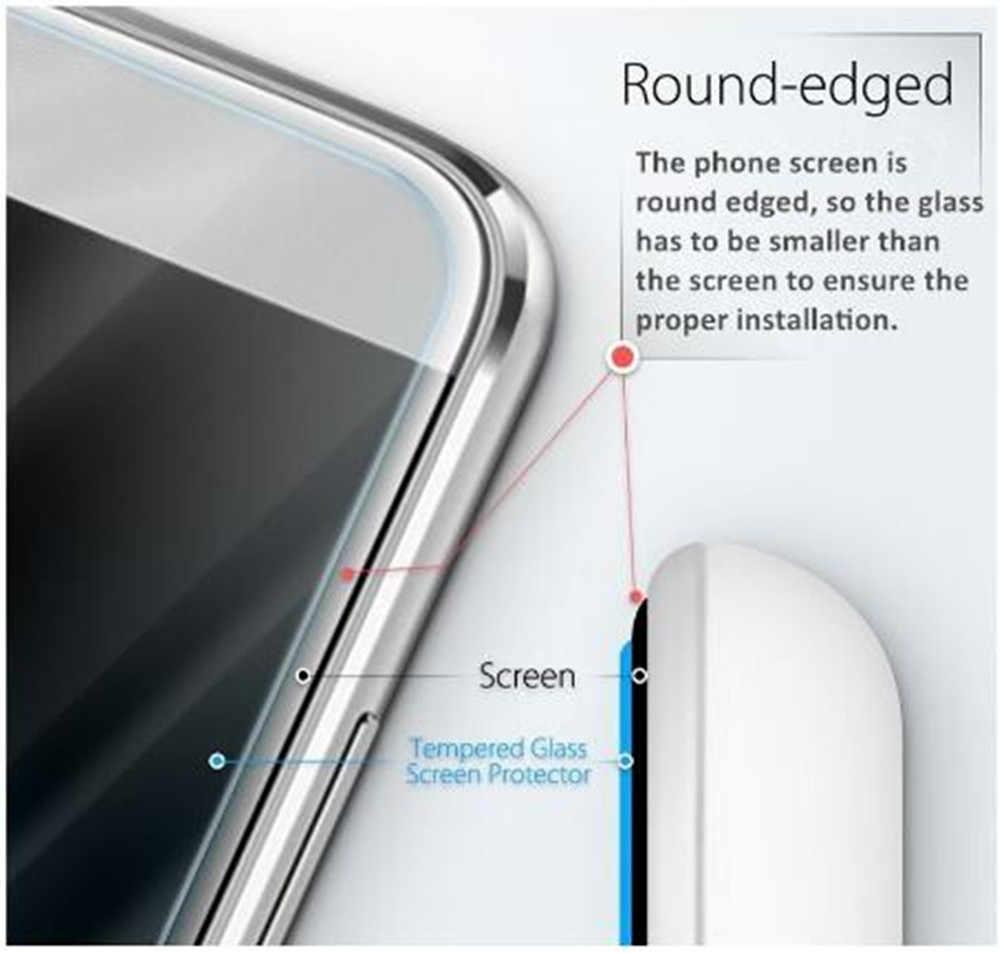 "2.5D 9H กระจกนิรภัยสำหรับ AGM A9/H1 5.99 ""Screen Protector แก้วสำหรับ AGM A9 ป้องกันฟิล์มแก้ว"