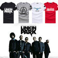 2016 Fashion  Linkin Park Rock t-shirt cotton short-sleeved Linkin ParkT shirt LP Summer short-sleeved linkin park sweatshirt