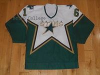 Dallas Stars 16 BOBBY HULL 2005 CCM Throwback Stitched Vintage Hockey Jerseys Embroidery Stitched Customize any number and name
