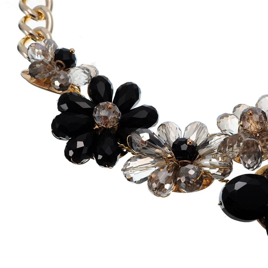 Λουλούδια κρύσταλλα λουλούδι - Κοσμήματα μόδας - Φωτογραφία 6