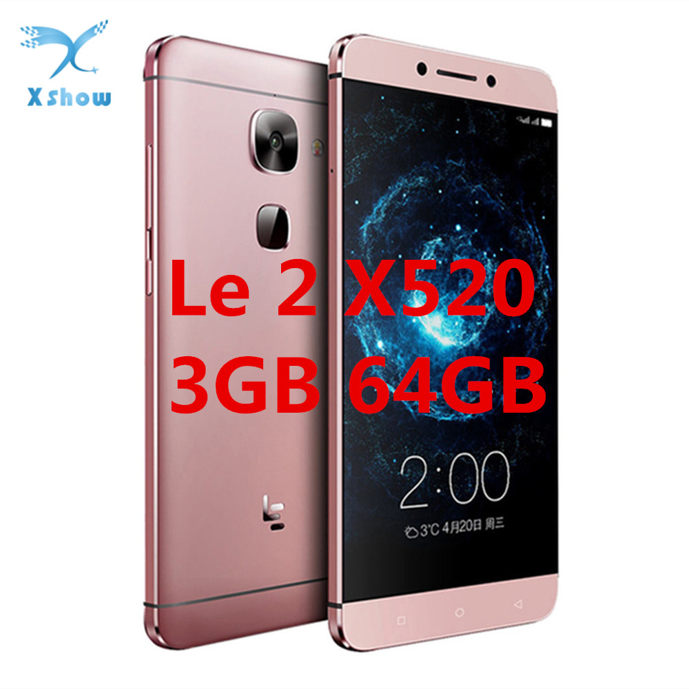 Letv LeEco Le 2 X520 Mobile phone Snapdragon 652 Octa Core CellPhone 5 5 3GB 64GB