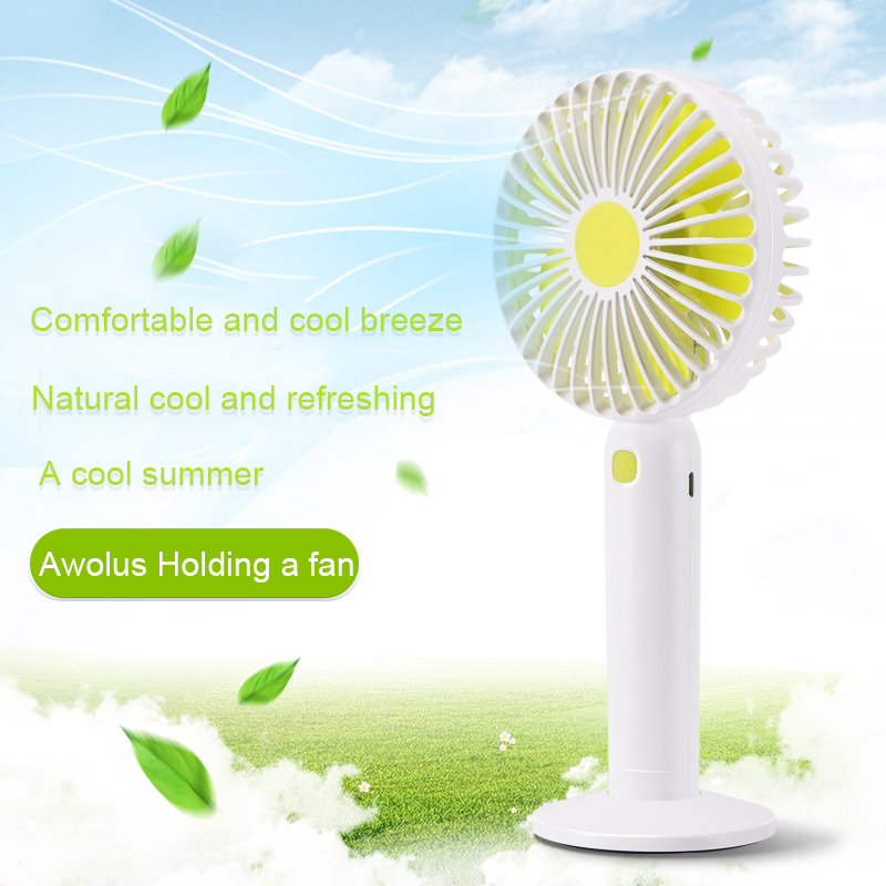 Mini Usb Hand Fan Cooling Portable Fan LED Light Air Conditioner Cooler Adjustable Speed Heat Rechargeable Battery Fans JSX new portable outdoor mini fans with led lamp light table usb fan spray water humidifier personal air cooler conditioner for home