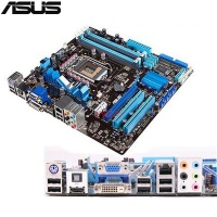 Original Used Desktop Motherboard For ASUS P7H55 M H55 Support LGA1156 I7 I5 I3 Maximum DDR3
