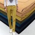 Nueva Moda de Verano de Los Hombres Pantalones Hombres Pantalones Largos Rectos Pantalones de Algodón de Alta Calidad Masculinos Clásico Casual de Negocios Pantalones de Los Hombres