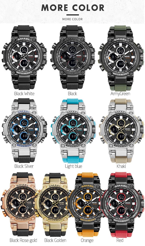 cronógrafo relógio led chronometre exibição semana relógios de pulso montre homme hora