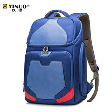 2016 new fashion leisure backpack laptop bag waterproof bag for male and female college students travel